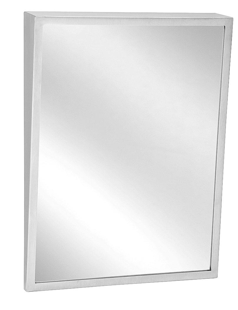 """Bradley 740-1836 Fixed Tilt Mirror 18"""" x 36"""""""