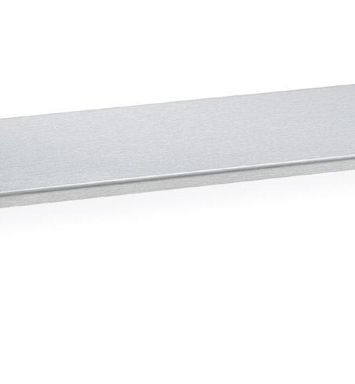"Bradley 755-12 Stainless Steel Shelf 5"" Depth"