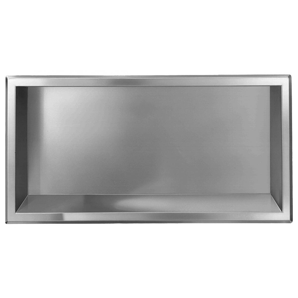 Bradley 760 Recessed Stainless Steel Shelf