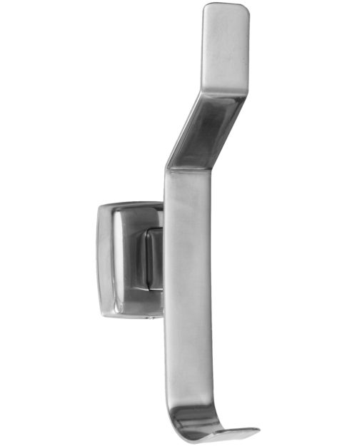 Gamco 7682 Surface Mounted Hat and Coat Hook - Bright Finish