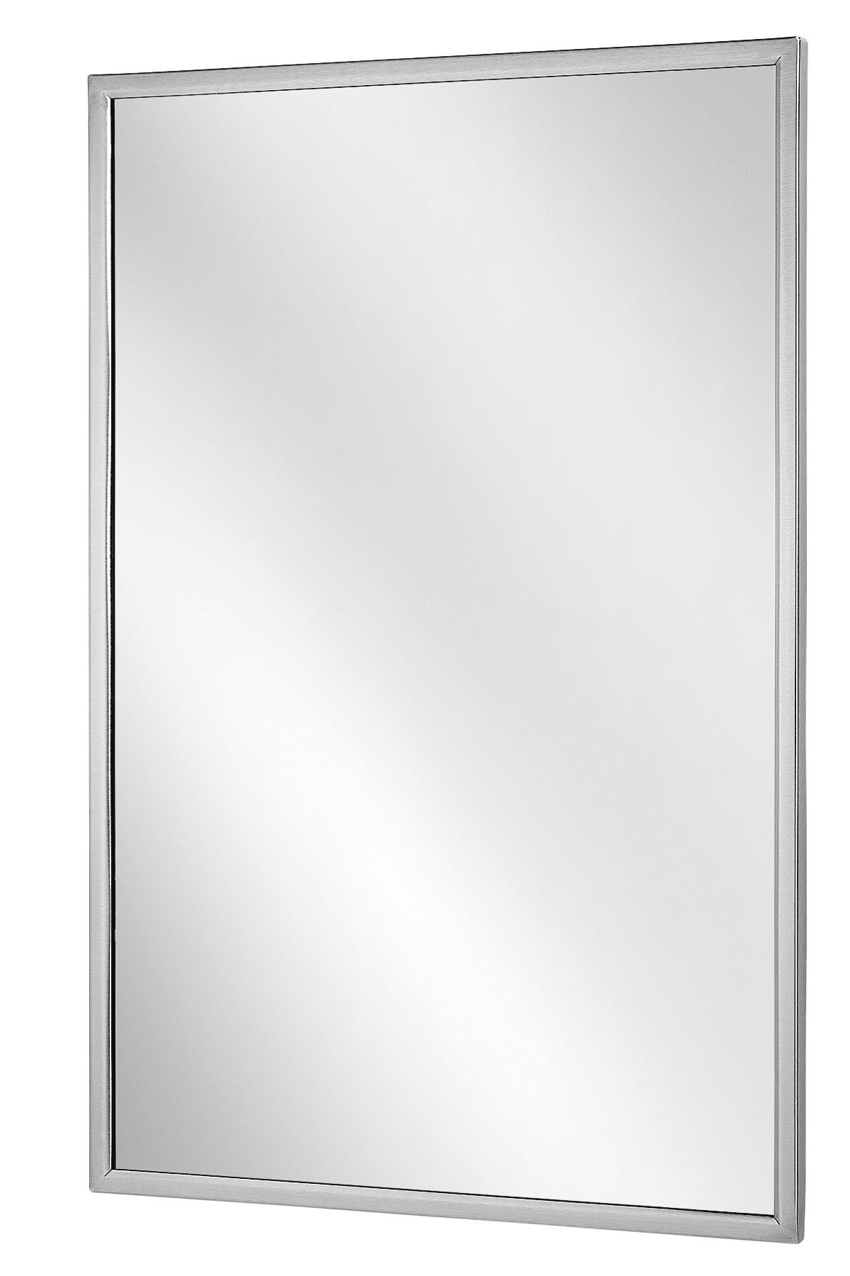 """Bradley 780-1836 Angle Frame Mirror 18"""" x 36"""""""