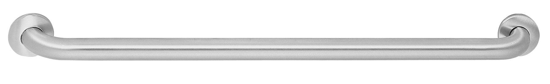"Bradley 8122-001240 Peened Safety Grip Grab Bar 1-1/2"" OD x 24"""