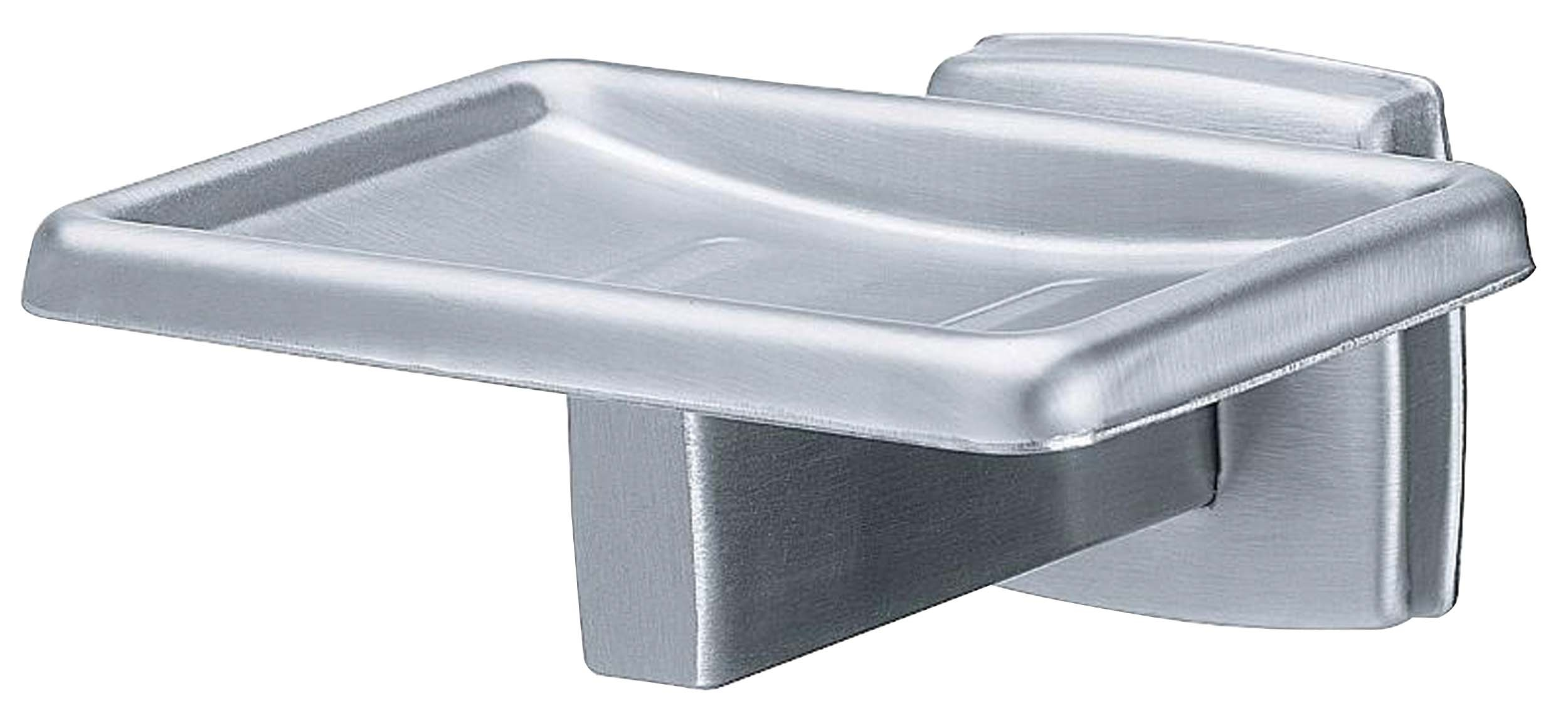 Bradley 9014-63 Satin Stainless Steel Soap Dish