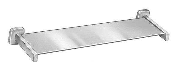 "Bradley 9094-24 Satin Stainless Steel 24"" Shelf"