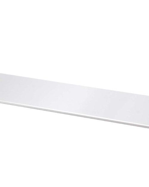 "Bradley 9095-24 Bright Polished Stainless Steel 24"" Shelf"
