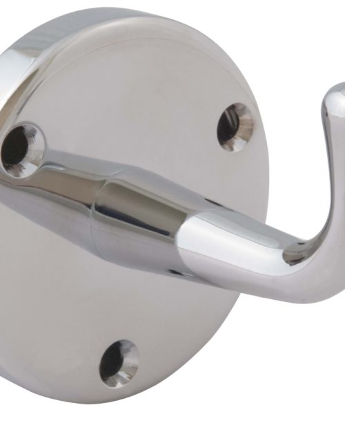 Bradley 9118 Heavy Duty Chrome Plated Robe Hook w/ Exposed Mounting