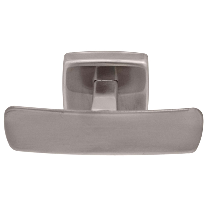 Bradley 9125 Bright Polished Stainless Steel Double Robe Hook