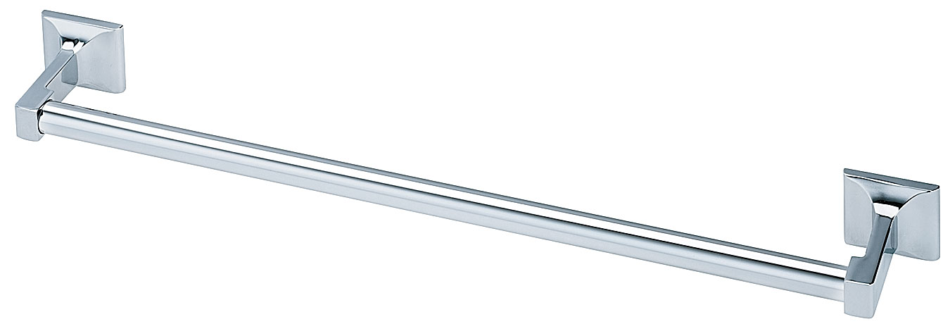 "Bradley 926-24"" Chrome Plated Round Towel Bar"