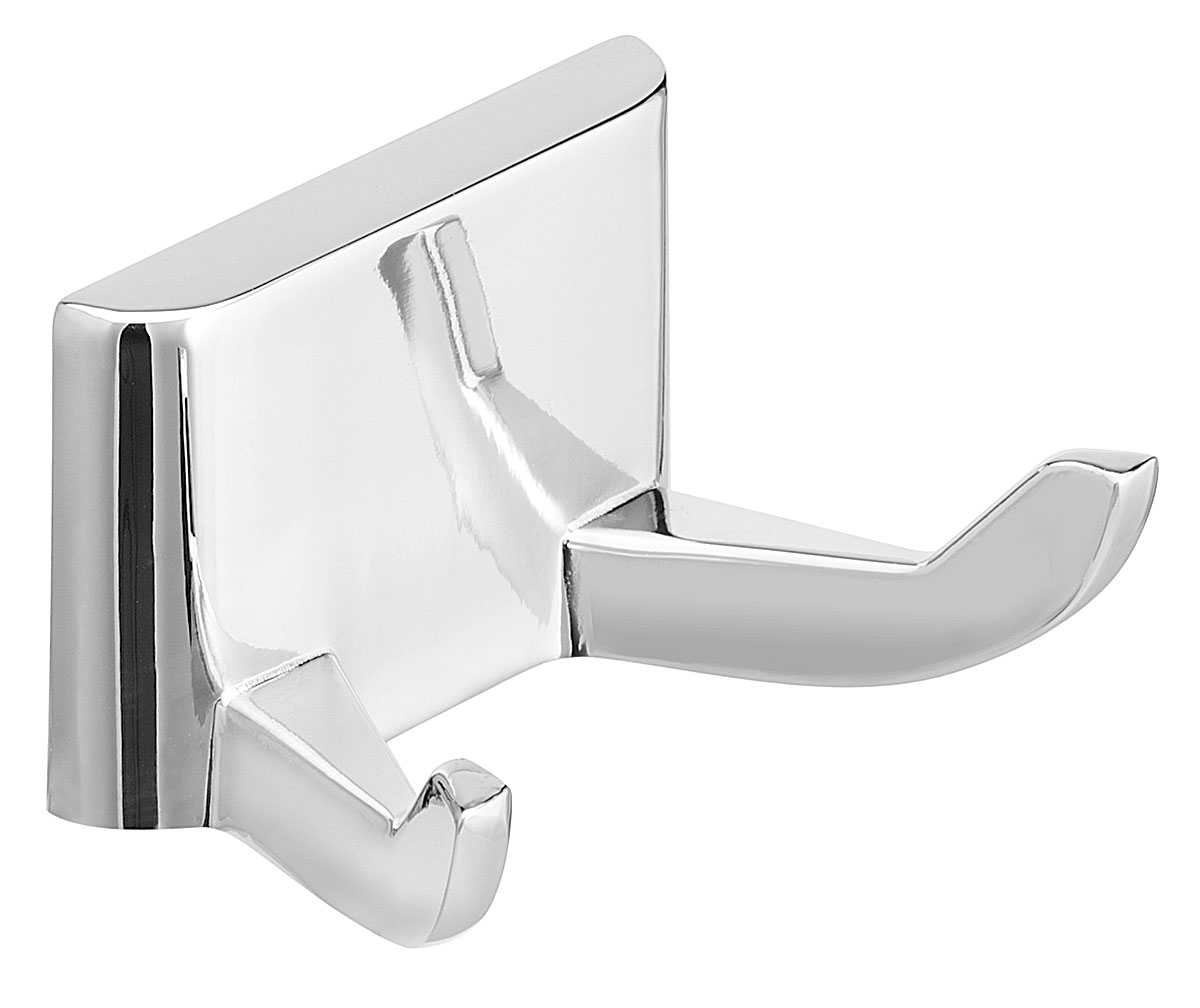Bradley 932 Chrome Plated Double Robe Hook