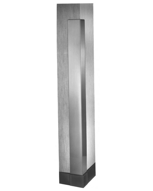 Bradley 991 Satin Stainless Steel Corner Guard - 60""