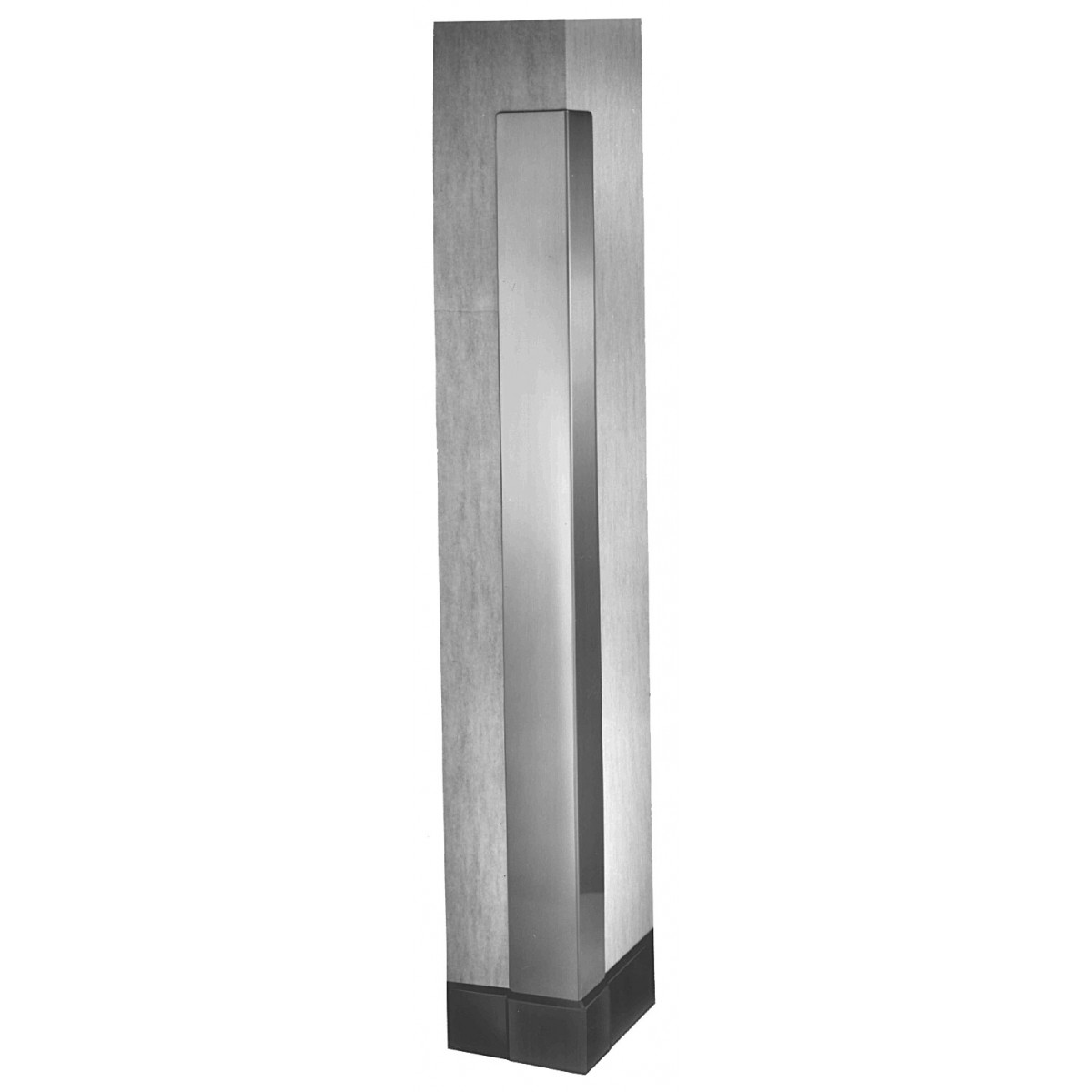 Bradley 991 Satin Stainless Steel Corner Guard - 48""