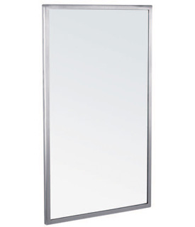 "Gamco A-Series Welded Frame Mirror - 18"" x 30"""