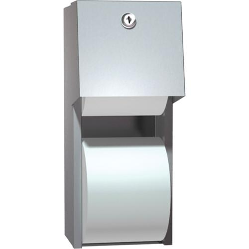 American Specialties 0030 Surface Mounted Dual Roll Toilet Paper Dispenser