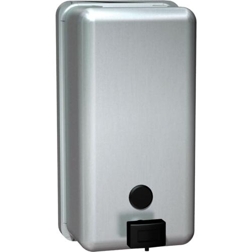 American Specialties 0347 Vertical Surface Mounted Liquid Soap Dispenser