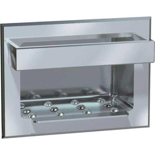 American Specialties 0398-D Recessed Heavy-Duty Stainless Steel Soap Dish & Bar