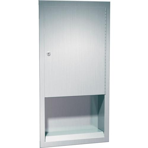 American Specialties 0452 Recessed Paper Towel Dispenser