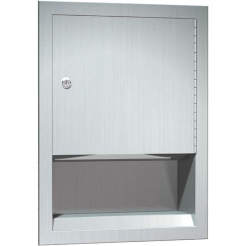 American Specialties 0457 Recessed Paper Towel Dispenser