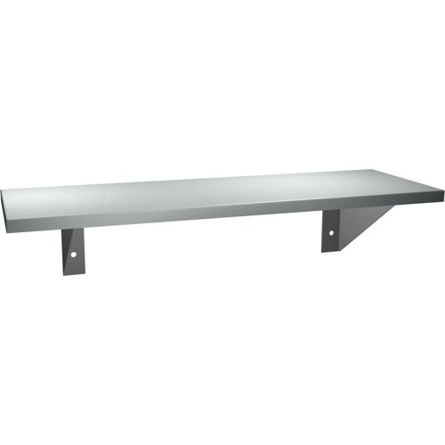 "American Specialties 0692-624  6"" x 24""  18 Gauge Stainless Steel Shelf"