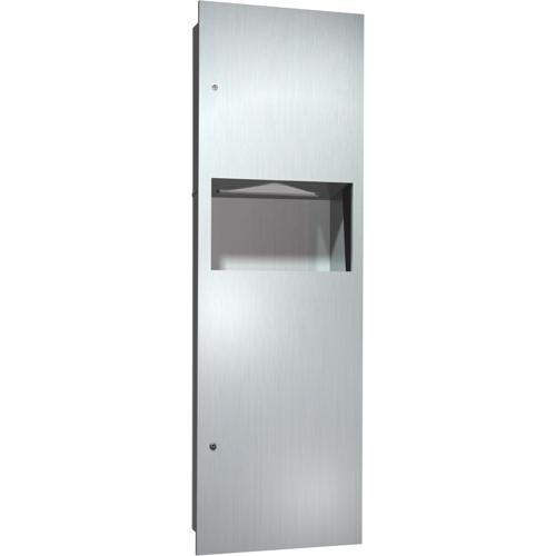 American Specialties 6462 Recessed Paper Towel Dispenser & Waste Receptacle