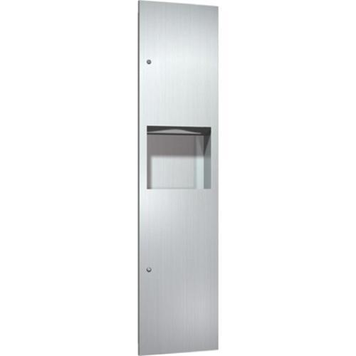 American Specialties 6467 Recessed Paper Towel Dispenser & Waste Receptacle