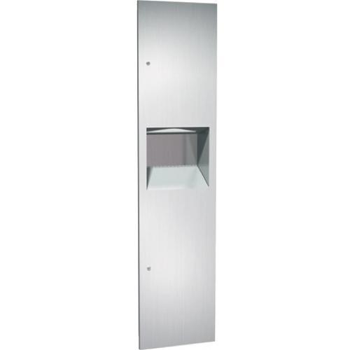 American Specialties 64676 Recessed Paper Towel Dispenser & Waste Receptacle