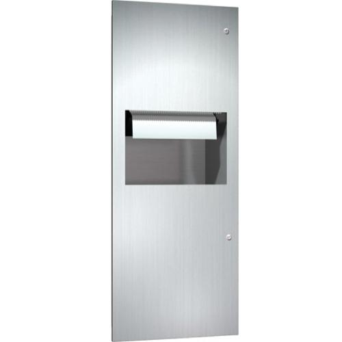American Specialties 64696A Recessed Automatic Roll Paper Towel Dispenser & Waste Receptacle