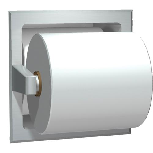 American Specialties 7403-SD Satin Finish Spare Roll Recessed Toilet Paper Holder