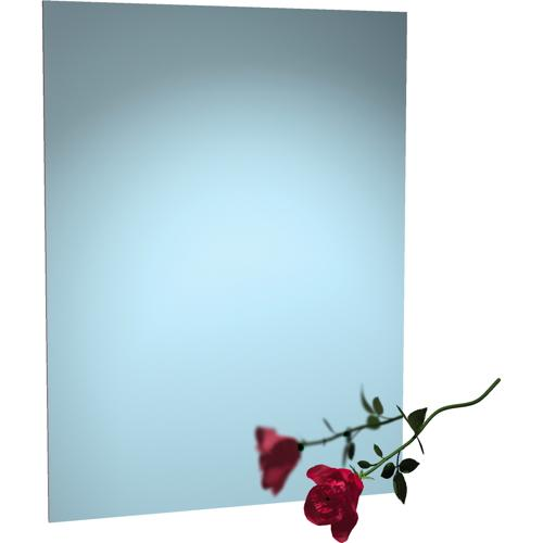 "American Specialties 8026-1830 Frameless  18"" x 30"" Mirror With Masonite Backing"