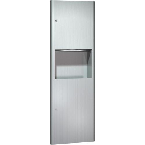 American Specialties 9462 Recessed Paper Towel Dispenser & Waste Receptacle