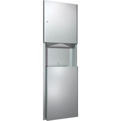 American Specialties 9469 Recessed Paper Towel Dispenser & Waste Receptacle