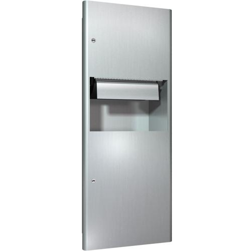 American Specialties 94696 Recessed Roll Paper Towel Dispenser & Waste Receptacle