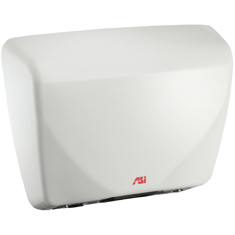 American Specialties 0185 Roval Steel Cover White Hand Dryer