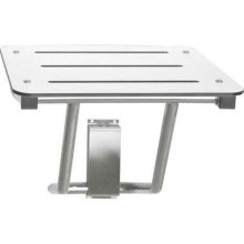 American Specialties 8207 Satin Stainless Steel Compact Folding Shower Seat