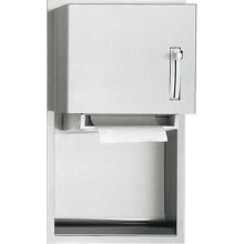 American Specialties 045224 Recessed Roll Paper Towel Dispenser