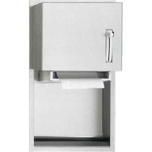 American Specialties 045224 Recessed Roll Paper Towel Dispenser