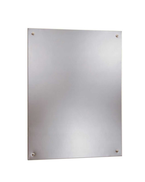Bobrick B-1556 1824 Frameless Stainless Steel Mirror