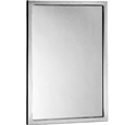 "Bobrick B-165 1824 Channel Frame Mirror 18"" x 24"""