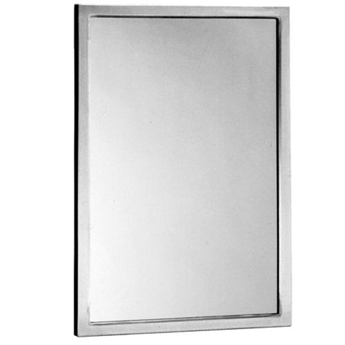 "Bobrick B-165 2448 Channel Frame Mirror 24"" x 48"""