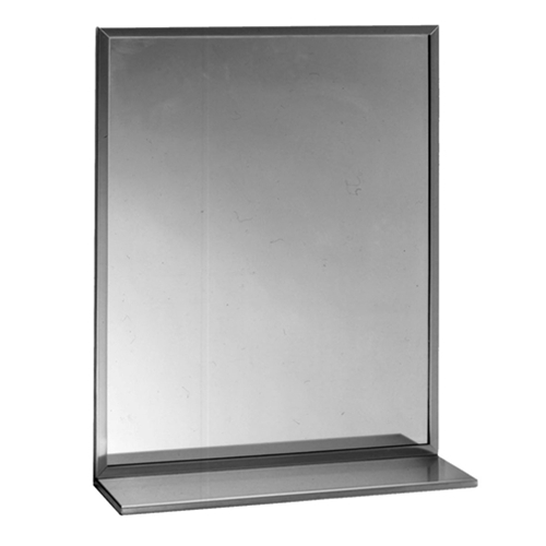 Bobrick-B-166-Mirror-with-shelf