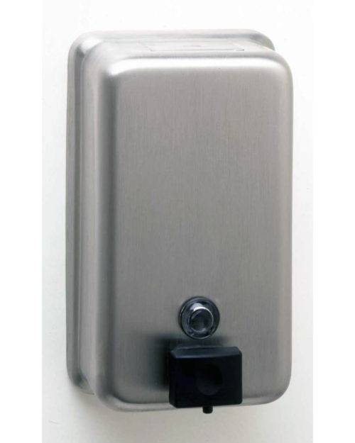 Bobrick B-2111 Surface-Mounted Vertical Soap Dispenser