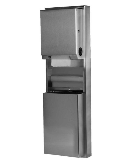 Bobrick B-39619 Paper Towel Dispenser & Waste Receptacle