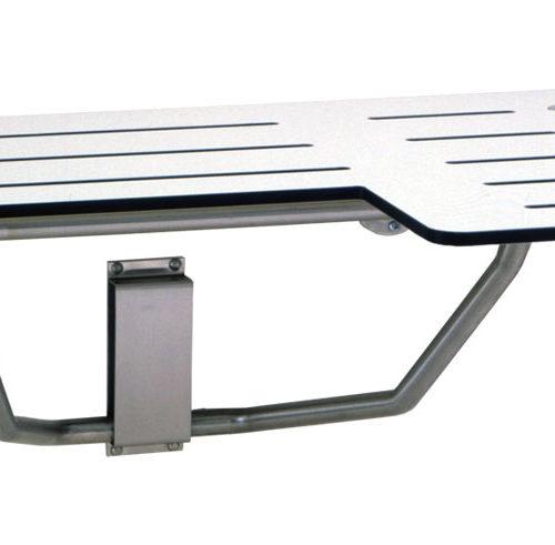 Gamco 5181 Folding Reversible Solid Phenolic Shower Seat