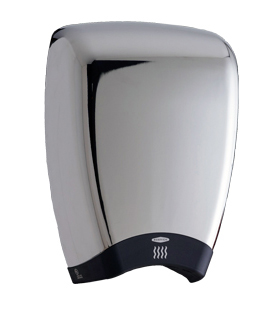 Bobrick 7188 115V TerraDry™ ADA Surface-Mounted Hand Dryer - Chrome