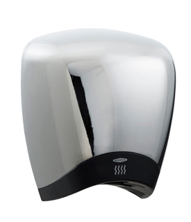 Bobrick 778 115V DuraDry™ Surface-Mounted High Speed Hand Dryer - Chrome
