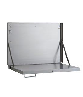 Bobrick B-7816 Folding Charting Station / Shelf