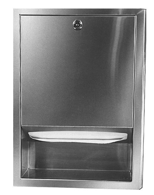 Bradley 2441 Recessed Towel Dispenser