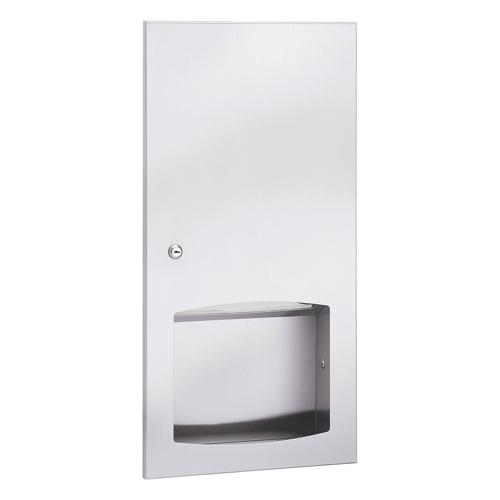 Bradley 2447-10 Contemporary Series Semi-Recessed Towel Dispenser