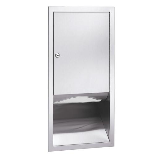 Bradley 247-10 Semi-Recessed High Capacity Towel Dispenser