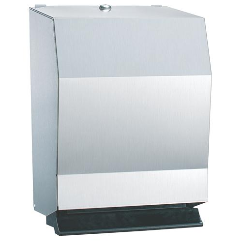 Bradley 2482-11 Surface Mounted Push Bar Towel Dispenser