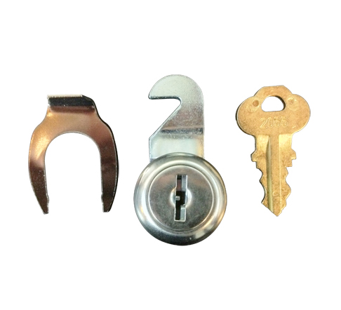 Bradley P15-400 Lock, Clip and Key Kit